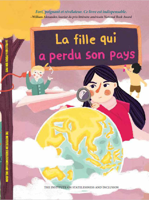 Front cover of the French translation the girl who lost her country