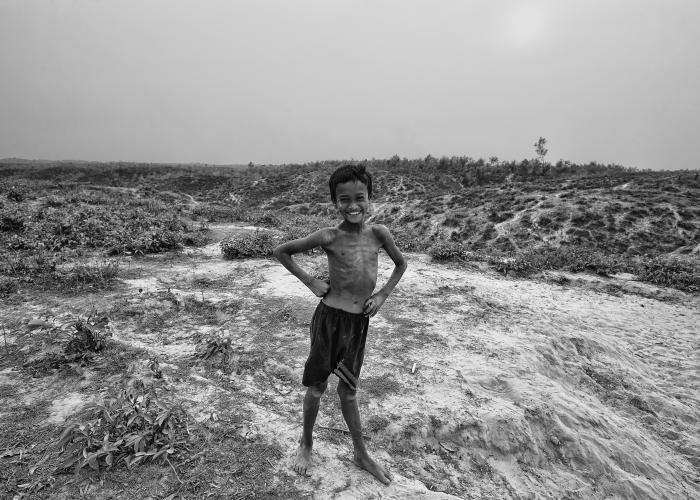 3.	Rohingya child in Bangladesh © Saiful Huq Omi